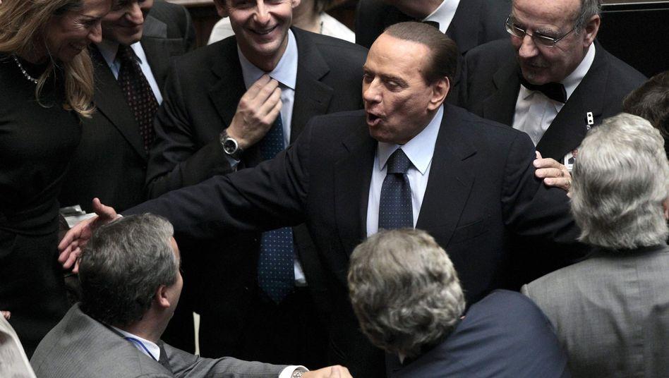 Krise in Italien: Berlusconi übersteht auch Vertrauensvotum Nr. 51