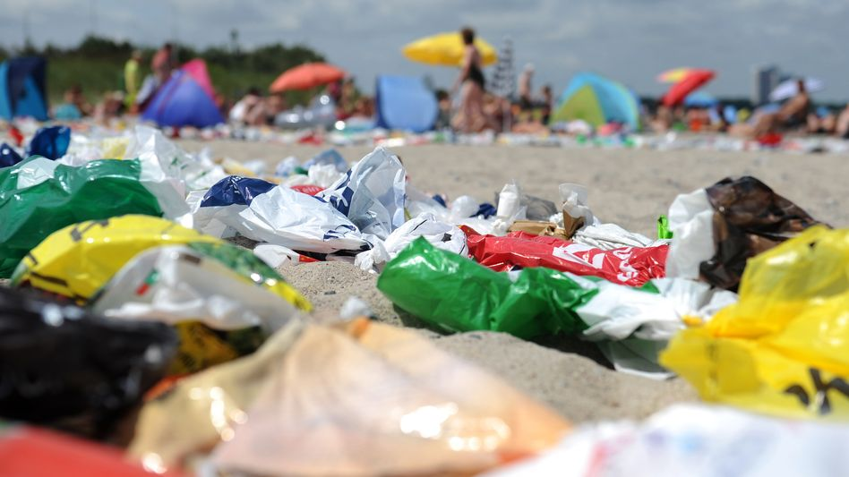 Plastikmüll am Ostseestrand: Nur die Mindestanforderungen der EU