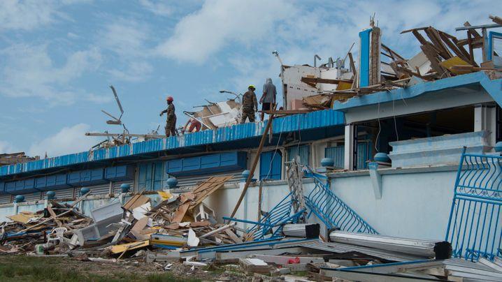 Karibikinseln: Getroffen vom Sturm