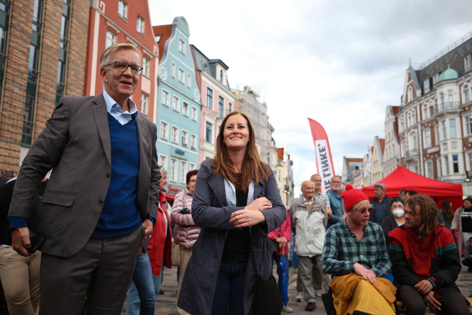 Wahlkampf Die Linke - Mecklenburg-Vorpommern