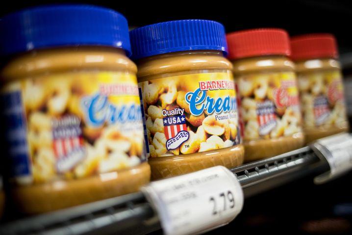 Erdnussbutter aus den USA
