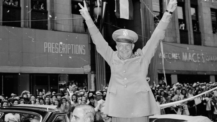 Dwight D. Eisenhower: Kriegsheld, Golfer, Westernfan