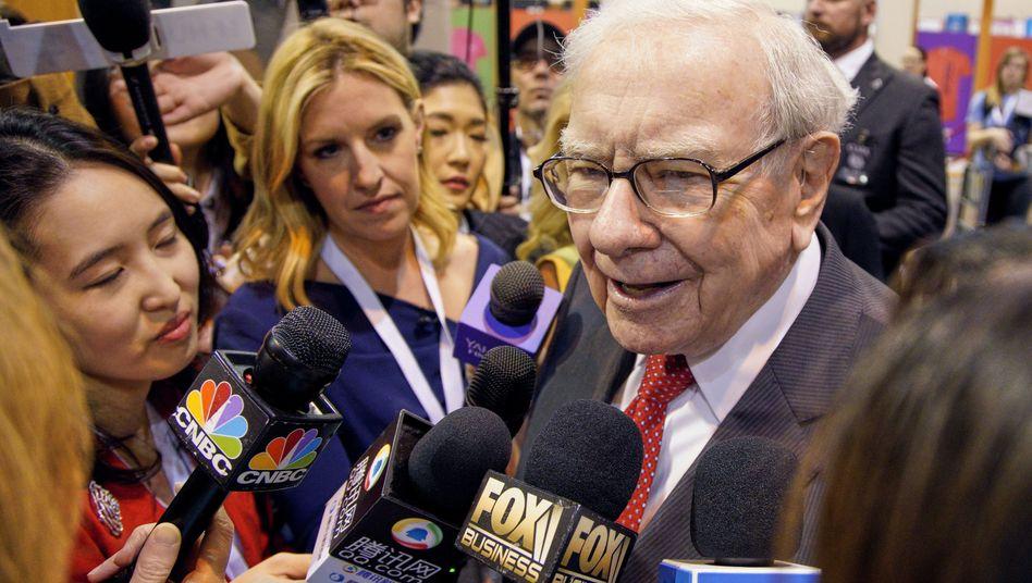 Warren Buffett in Omaha