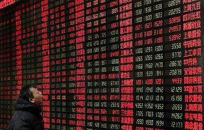 Börsen-Monitor in Shanghai: Positive Wirtschaftsdaten
