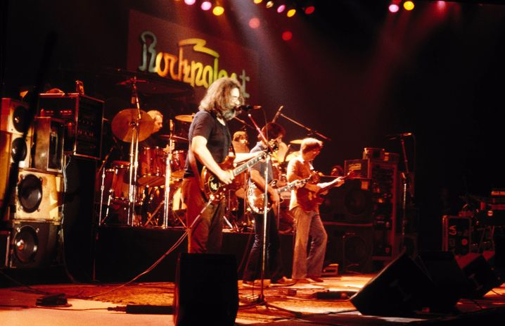 The Grateful Dead traten 1981 beim Rockpalast auf