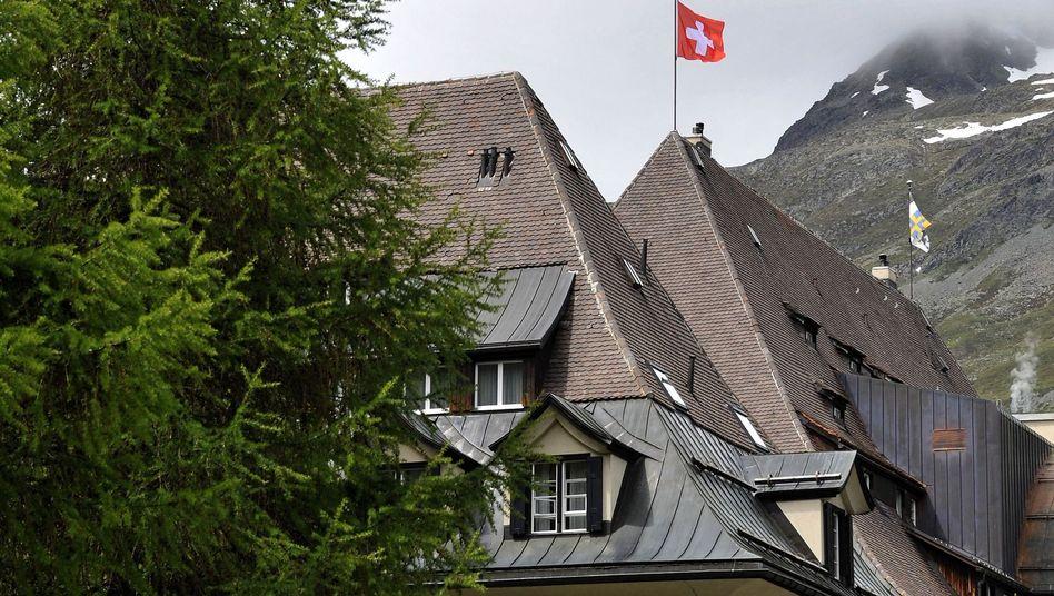 Bilderberg-Konferenzort St. Moritz (2011): Hier kuschelt die Weltelite