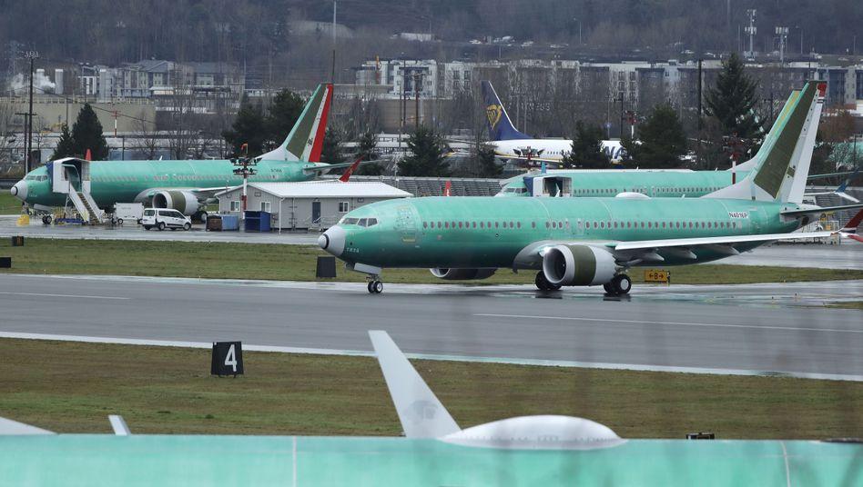 Laut Boeing würde es pro Maschine zwei Stunden dauern, um das Problem zu beheben