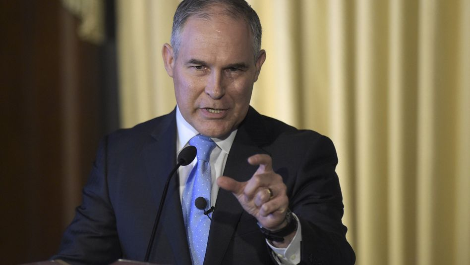 EPA-Chef Scott Pruitt