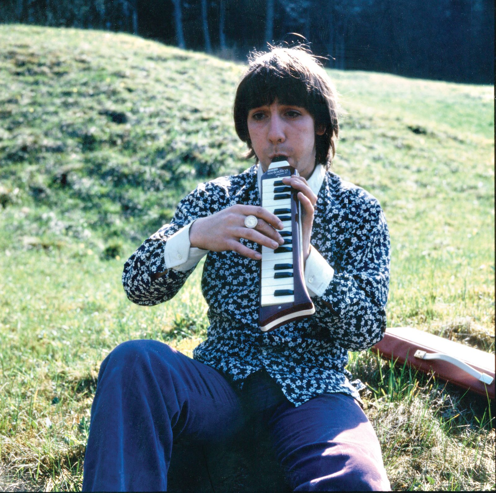 Pete Townshend - Keith Moon Playing Melodica