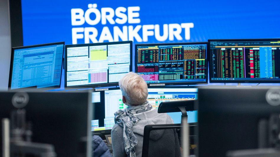 Die Börse in Frankfurt (Symbolbild)
