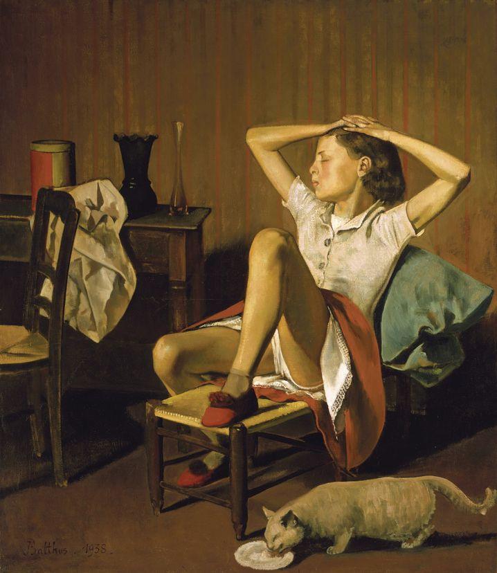 "Balthus-Gemälde ""Thérèse, träumend"""