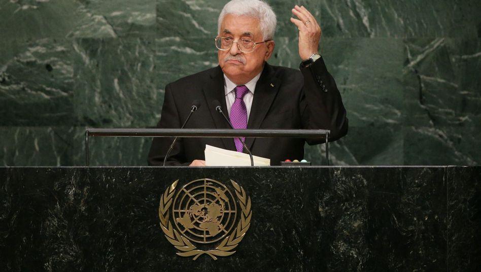 Mahmoud Abbas vor der Uno: Schwäche statt Stärke