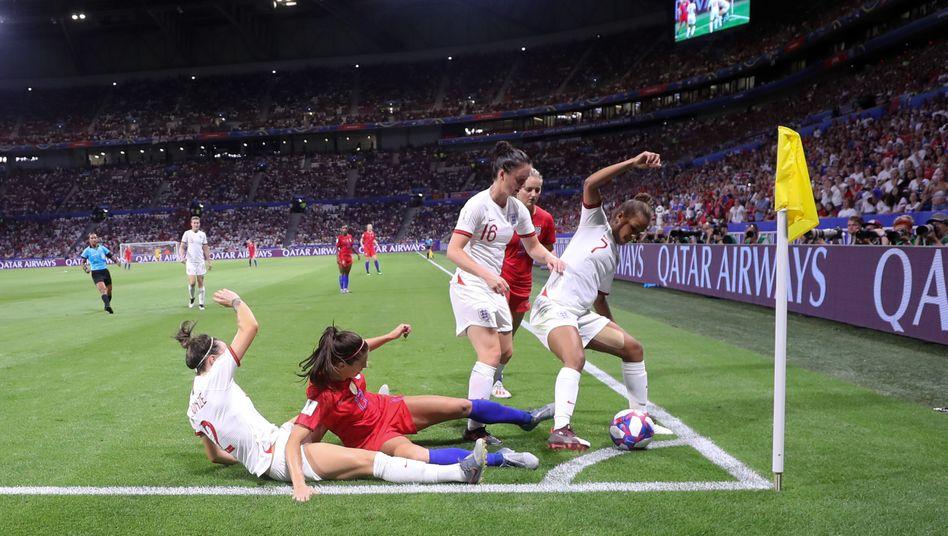 Halbfinale England gegen USA