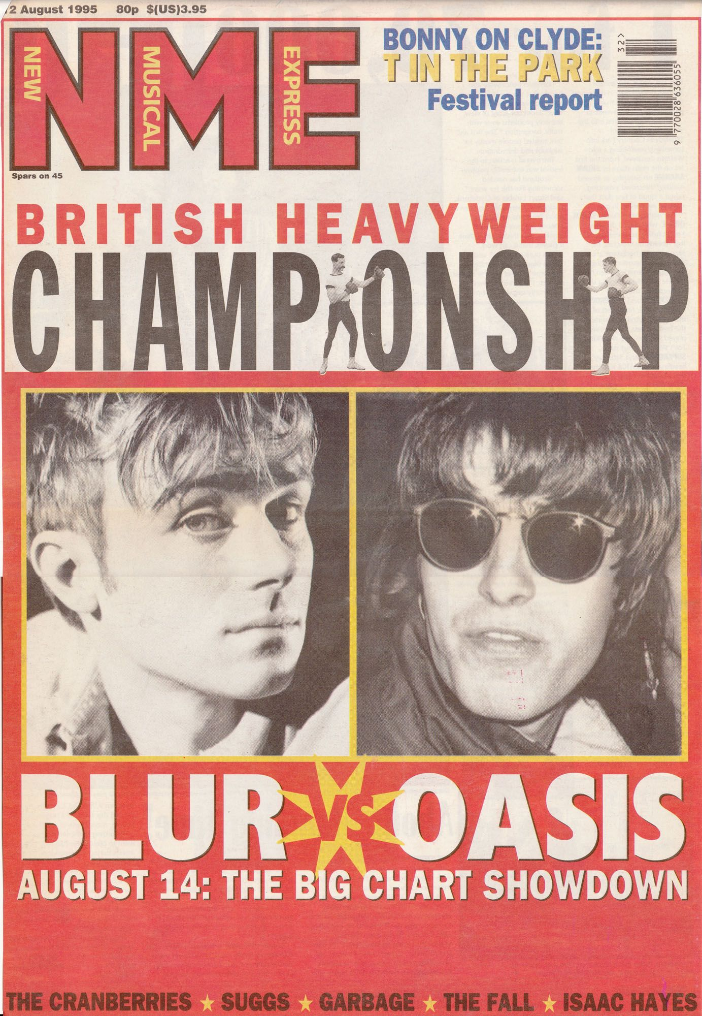 Blur vs Oasis NME