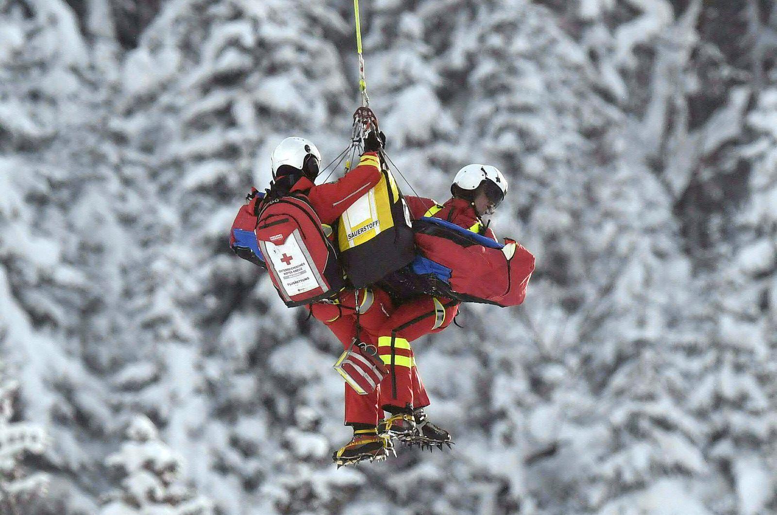 Ski/ Unfall/ Hubschrauber
