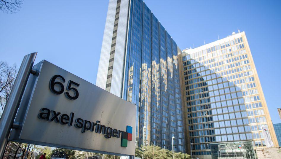 Zentrale des Axel-Springer-Verlags in Berlin