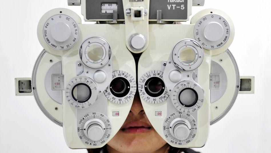 Augenärztliche Untersuchung: Nicht jeder Test ist immer nachvollziehbar