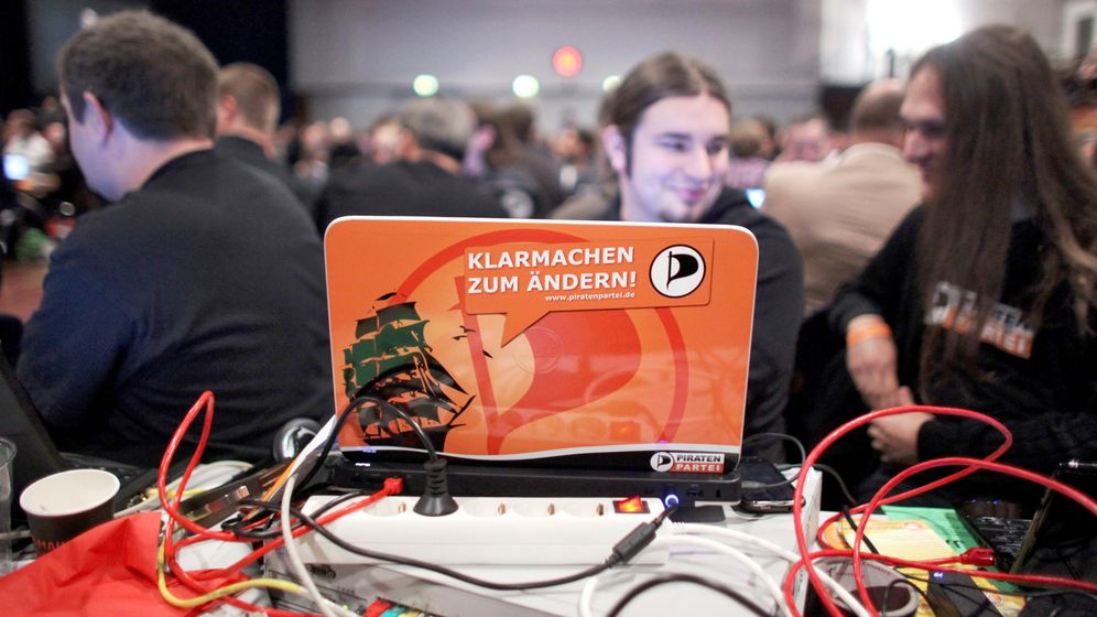 Photo Gallery: Pirate Party Looks for Electoral Gains