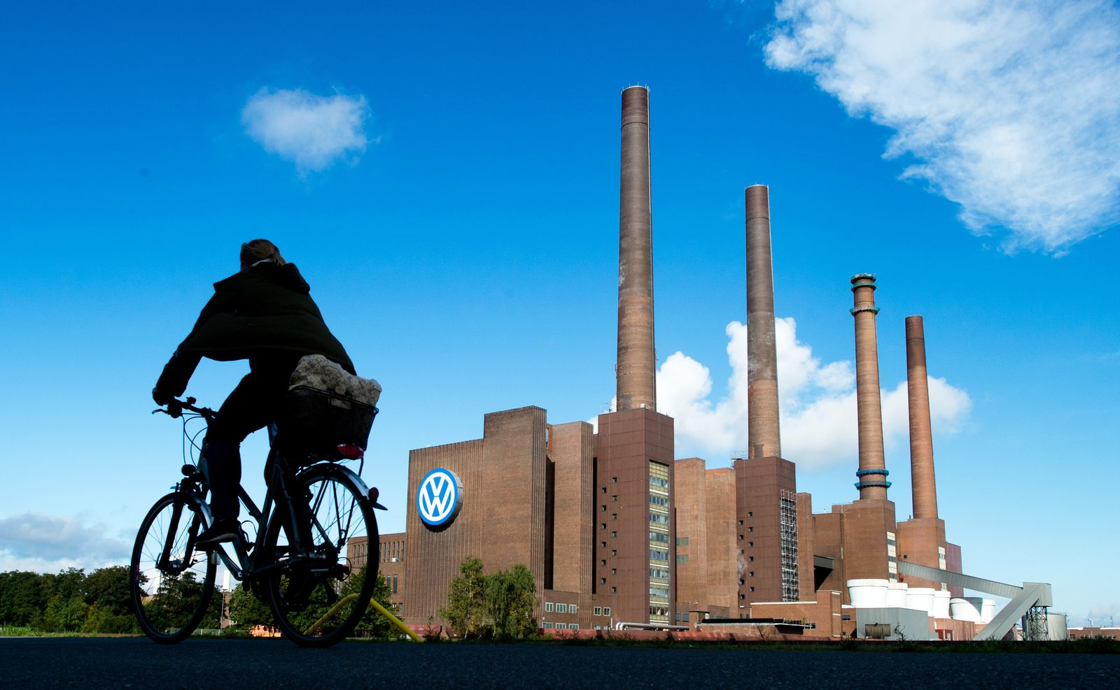 VW Werk Wolfsburg / VW-Baustellen