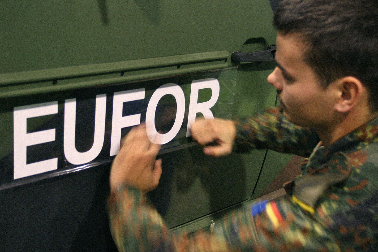 Eufor Friedensmission Bosnien