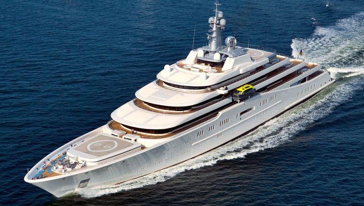 Superlative: Die Yachten der Milliardäre
