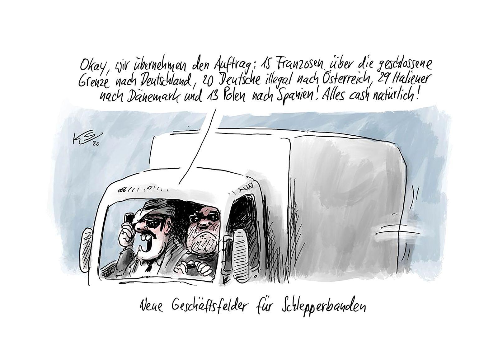 Cartoons/ 18.03.20