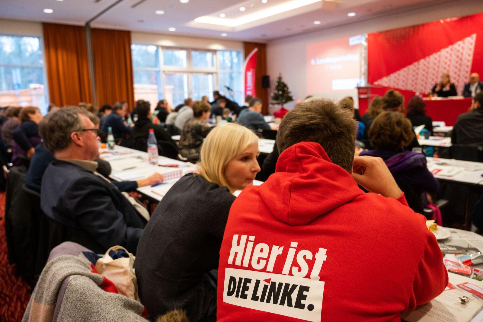 Landesparteitag Die Linke Brandenburg