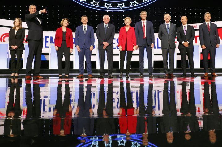 Die zehn Hauptpersonen des Abends: Wer konnte punkten, wer nicht?