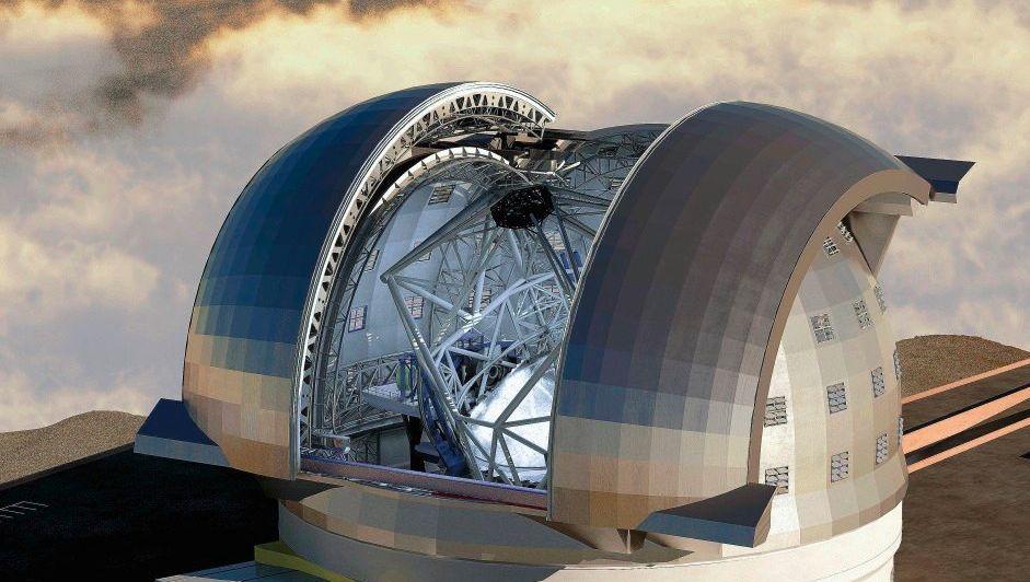 »European Extremely Large Telescope« (Modell)