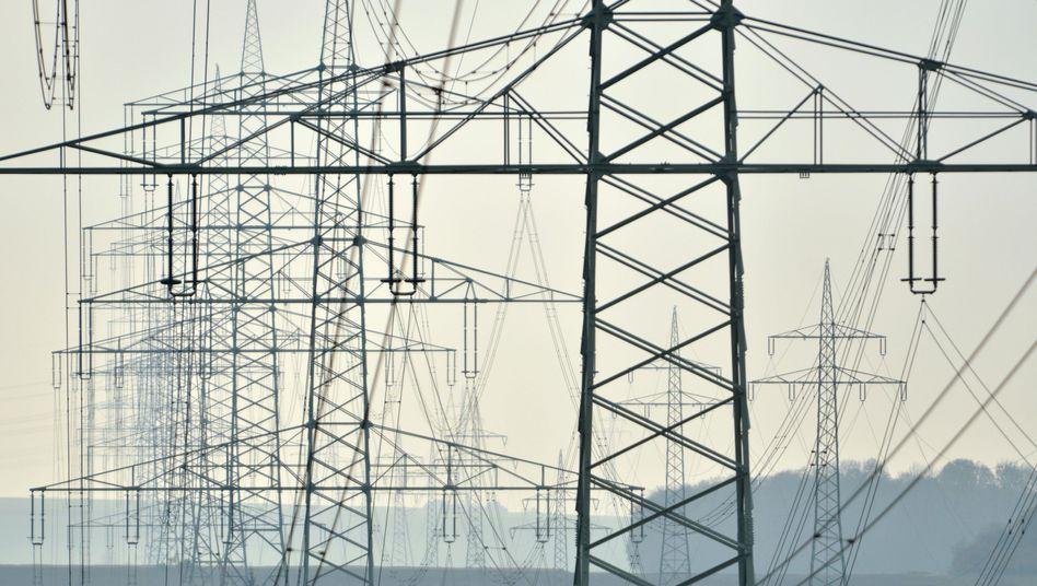 Stromleitungen in Hessen: Kostenschub für 2014 erwartet