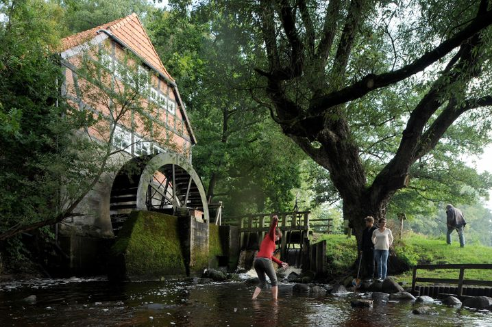 Denkmal-Tag an der Wasserühle Stuckenborstel bei Ottersberg