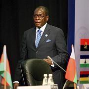 Diktator Robert Mugabe auf dem Gipfeltreffen der SADC in Johannesburg: Simbabwe-Problem weiterhin ungelöst