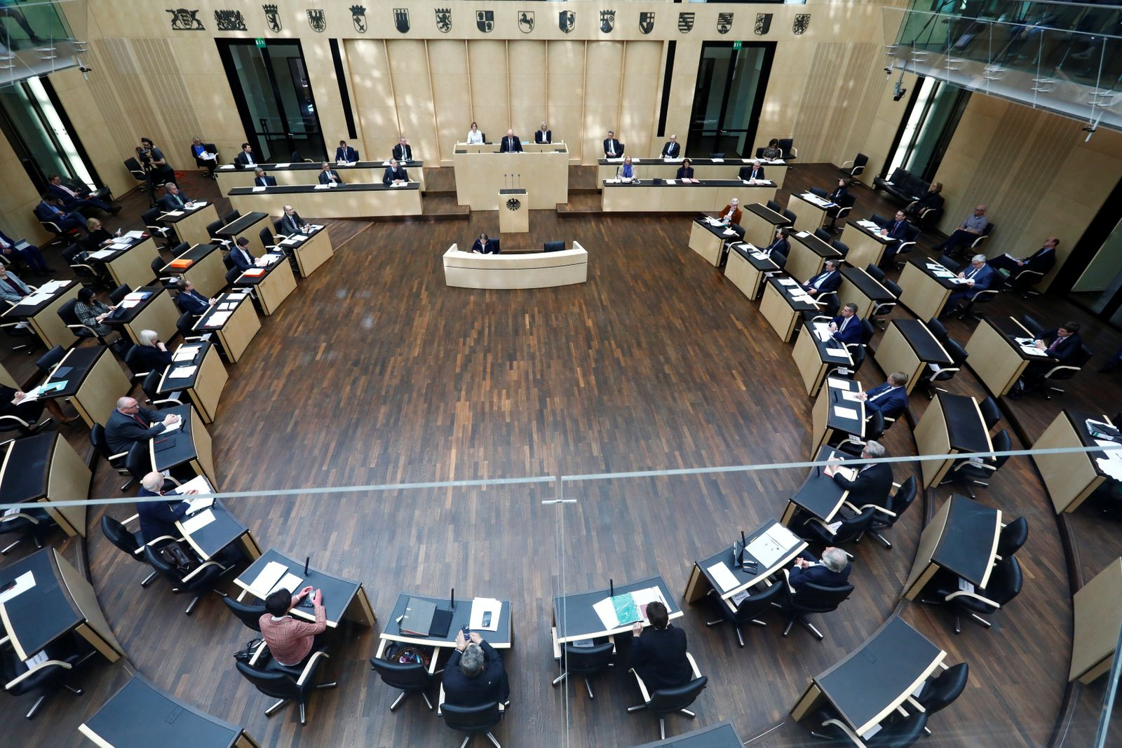 German Bundesrat holds special session on coronavirus disease (COVID-19) in Berlin