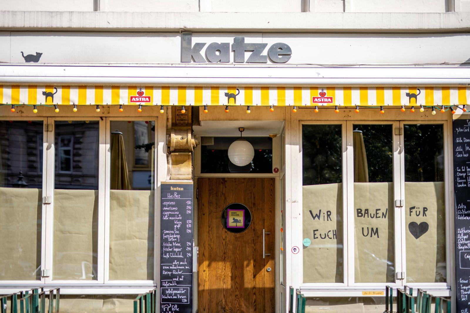 News Themen der Woche KW38 Hamburg, 17. September 2020 - Bar ?Katze ? im Hamburger Schanzenviertel *** Hamburg, 17 Septe
