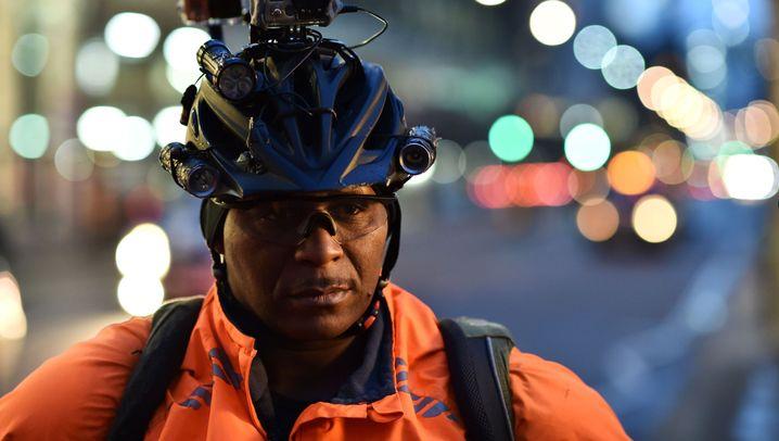 """""""Verkehrsdroide"""" in London: Held oder Nervensäge?"""