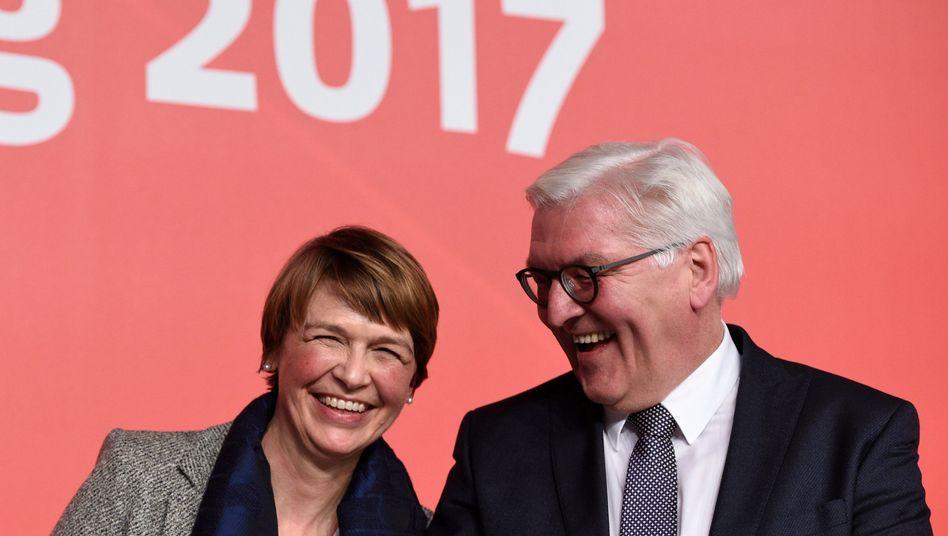 Frank-Walter Steinmeier, Ehefrau Elke Büdenbender