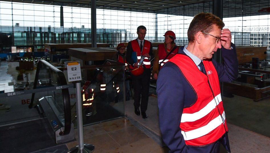 BER-Flughafenchef Karsten Mühlenfeld