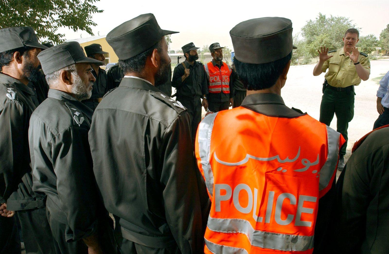 Polizei-Ausbildung in Afghanistan