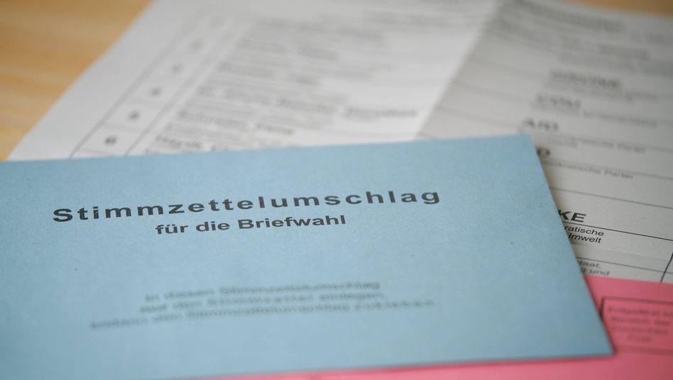 Briefwahlunterlagen für die Landtagswahl in Baden-Württemberg