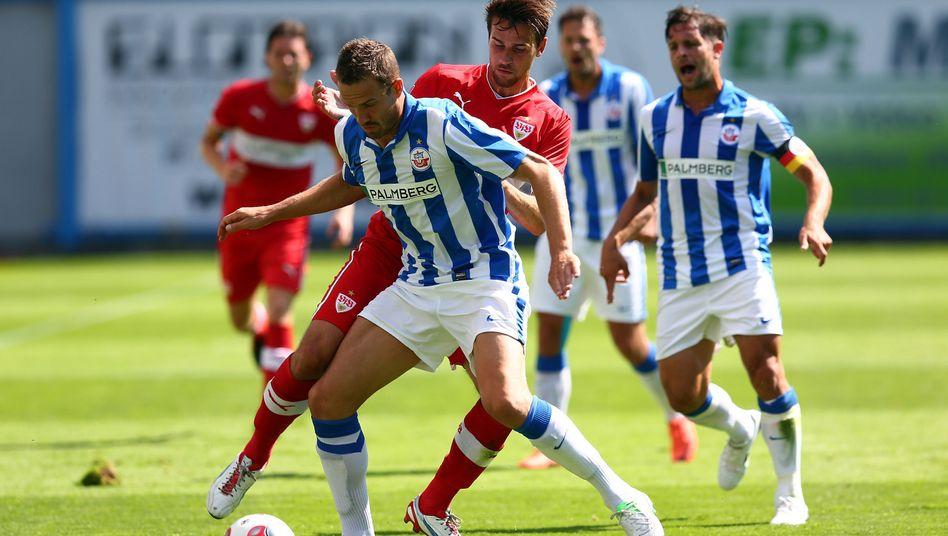 Rostocker Profis: Ziel ist der Wiederaufstieg in Liga zwei