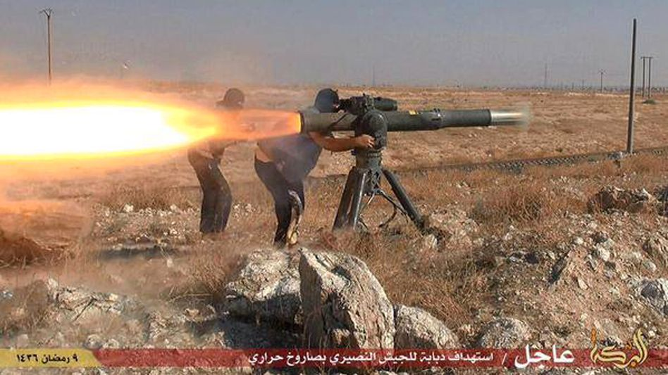 """IS-Kämpfer in Syrien: """"Eines der Dinge, die der Entstehung des IS vorausgingen, war die Wirkung des Klimawandels"""", behauptet US-Politiker O'Malley"""