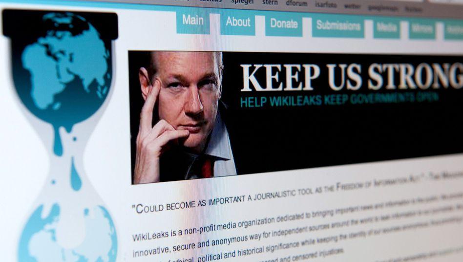 WikiLeaks-Website: Es gibt ein Leaken nach den Leaks