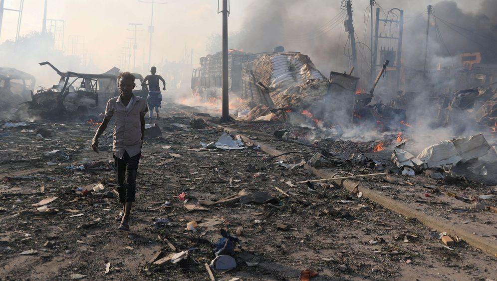 358 Tote: Schwerstes Attentat in der Geschichte Somalias