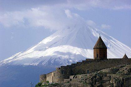 Mt. Ararat from Armenia.