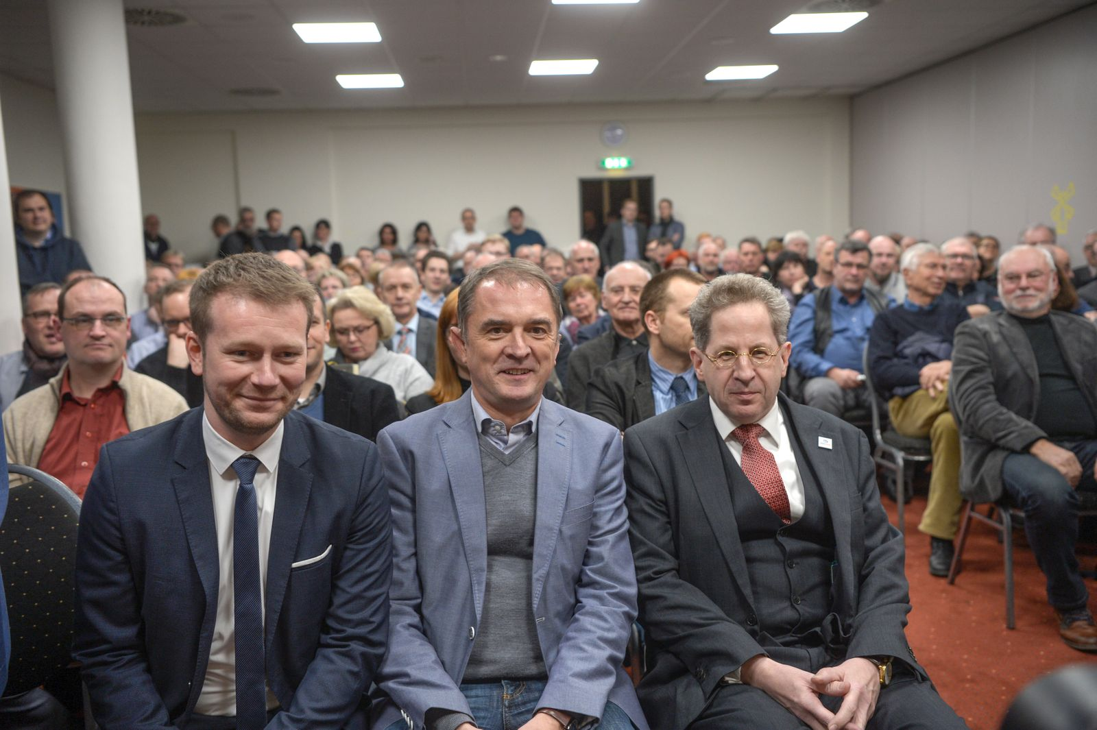 Ehemaliger Bundesverfassungsschutzpräsident Maaßen in Landsberg