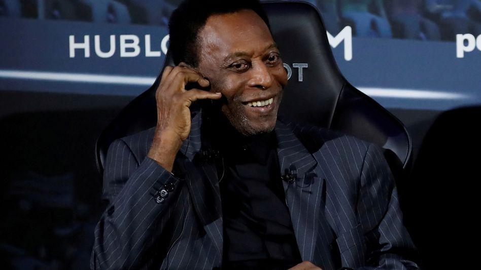 Fußballstar Pelé (im April 2019)