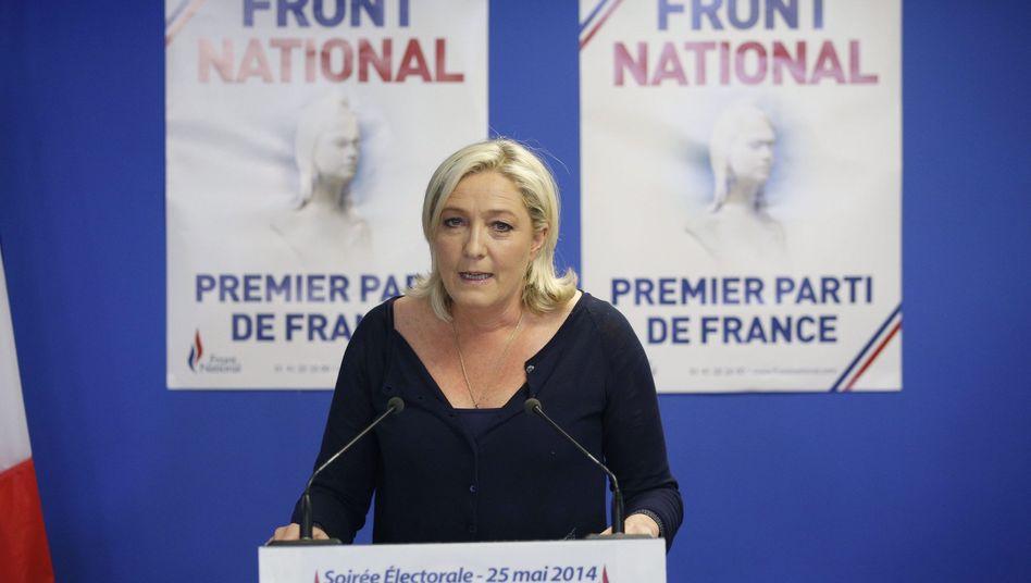 Triumph für Marine Le Pen: Frankreich im Schockzustand