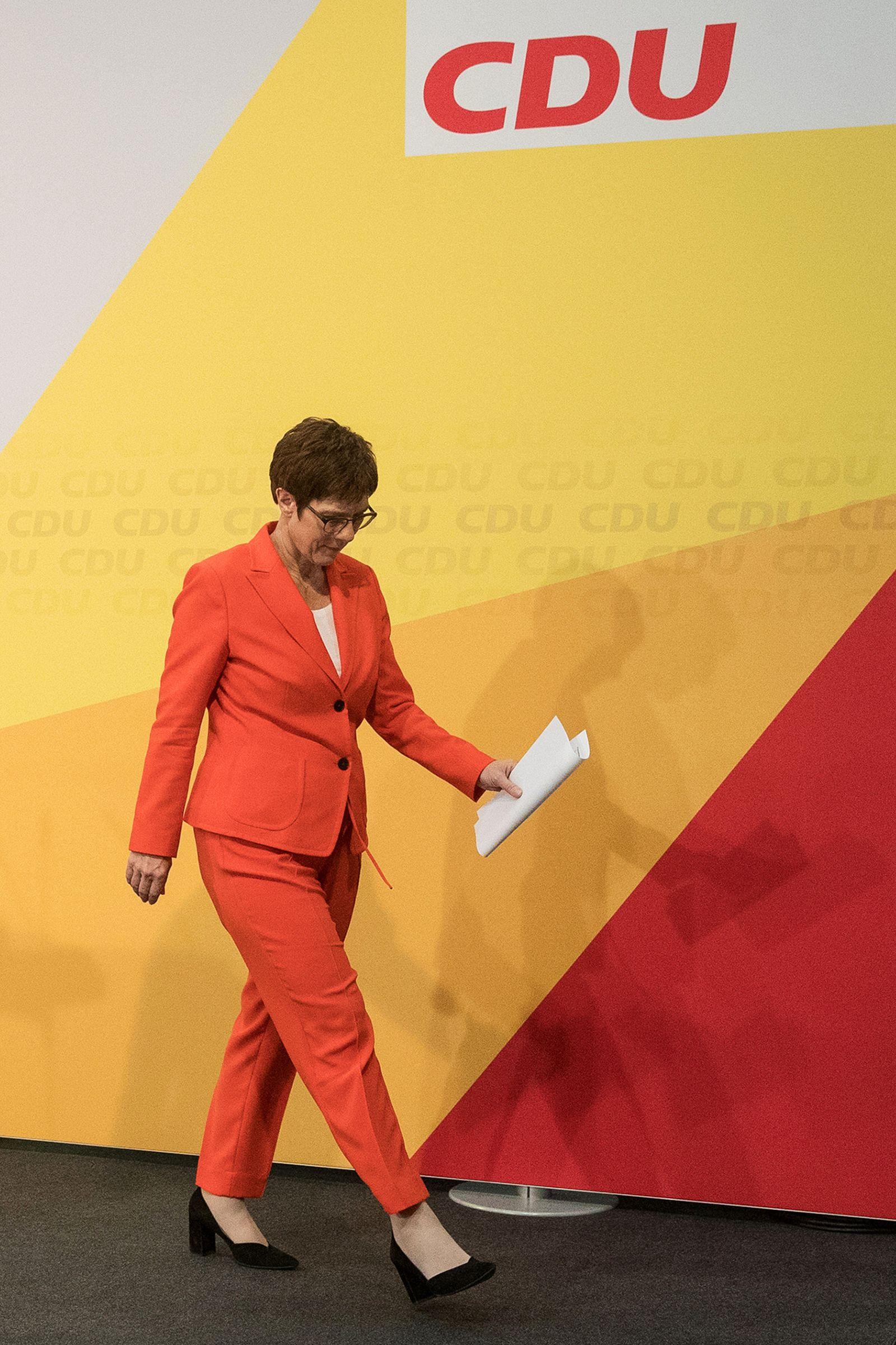 Christian Democrat Union Leadership Hold Coalition Crisis Meeting