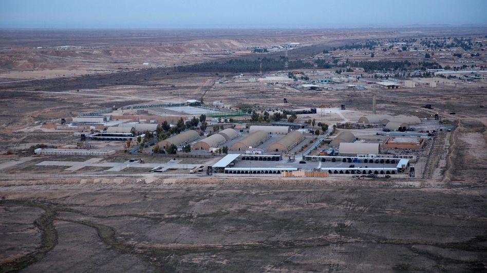 Luftwaffenbasis Ain al-Asad im Irak (Archivbild)