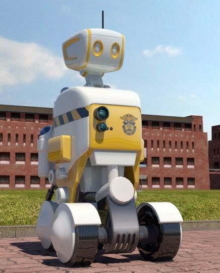 Prototype of prison guard robot